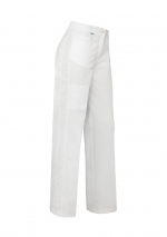 Milly lange pantalon wit