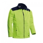 Fleece jacket Santino Trento 2 color lime navy