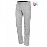 Kokspantalon Chino BP 1735 zwart wit ruit