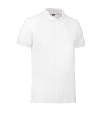 Stretch poloshirt wit