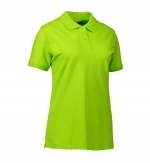 Poloshirt dames kat.stretch getailleerd 0527 lime