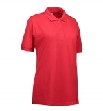 0521 poloshirt dames  Identity classic rood