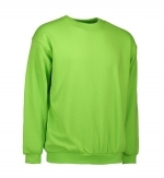 0600 sweater ronde hals ID Identity lime