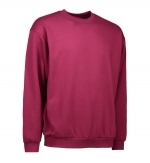 0600 sweater ronde hals ID Identity bordeaux