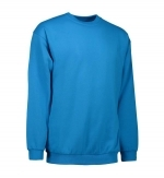 0600 sweater ronde hals ID Identity turquoise