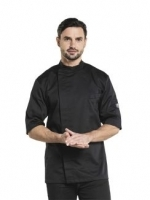 Bacio koksbuis short sleeve black Chaud Devant