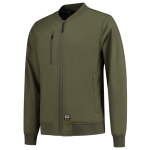 404009 Softshell bomberjack army green