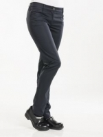 198 Lady chef pantalon skinny stretch zwart