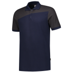 202006 Bi color poloshirts ink grey