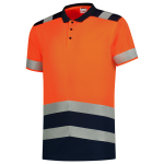 203007 poloshirt RWS high vis bi color oranje