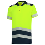 203007 poloshirt RWS high vis bi color geel