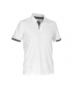 traxion heren polo ademend wit