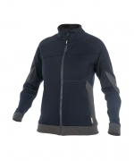 Dassy Velox sweater rits dames blue midnight