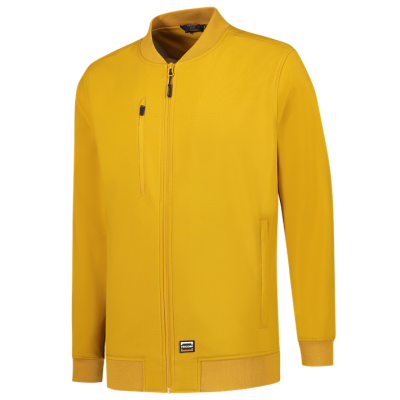 404009 Softshell bomber jack curry geel